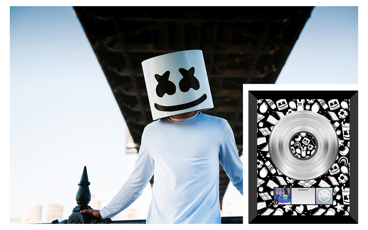 Marshmello platinum status ile ilgili görsel sonucu